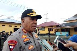 Brimob Gorontalo ikut apel dipimpin Kapolda Papua
