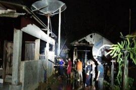Polisi selidiki terbakarnya dua rumah warga