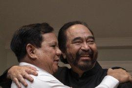 Prabowo-Paloh bertemu,  hasilkan tiga kesepakatan
