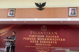 Pengurus Pemuda Muhammadiyah Surabaya 2018-2022 resmi dilantik