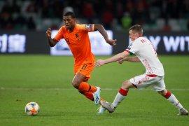 Belanda tundukkan Belarusia, Wijnaldum cetak gol