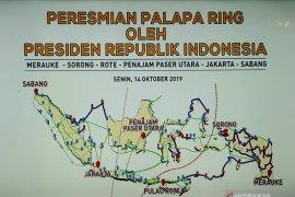 "Ketika kepala daerah ""curhat"" ke Jokowi saat peresmian Palapa Ring"