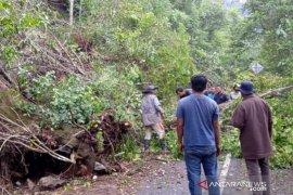 Longsor batu gunung macetkan lintas  Banda Aceh-Meulaboh