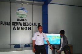 BMKG :  frekwensi gempa susulan Maluku capai 1.520 kali