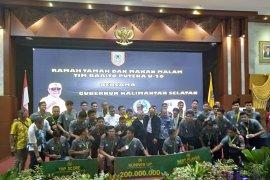 Kepulangan Barito Putera U-20 disambut istimewa oleh Pemprov