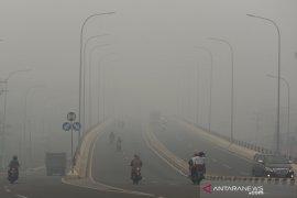 BMKG: Kabut asap di Sumatera disebabkan titik panas fluktuatif