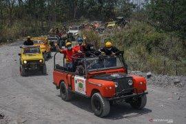Wisata lereng Gunung Merapi masih aman dikunjungi