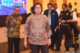 Sri Mulyani temui Presiden dan Mensesneg