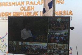 Presiden Jokowi lakukan konferensi video dengan Wagub NTT
