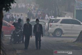 Siswa Sekolah di Palembang diliburkan karena kabut asap Page 1 Small