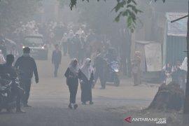 Siswa Sekolah di Palembang diliburkan karena kabut asap Page 2 Small
