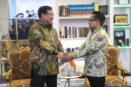 Ketum Golkar terima kedatangan Prabowo
