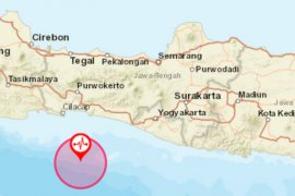 Jateng selatan diguncang gempa magnitudo 5,0