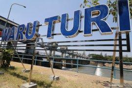Debit air bendungan Waru Turi menurun