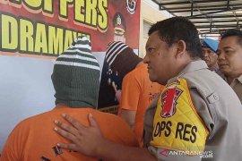 Polisi Indramayu bekuk empat bandar narkoba