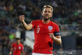 Inggris bungkam Bulgaria 6 gol tanpa balas