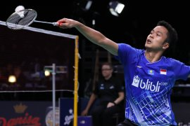 Anthony Ginting bertemu Momota di final BWF Tour 2019