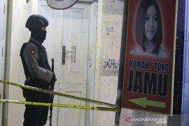 Penggeledahan Rumah Terduga Teroris