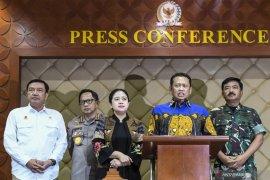 Ketua MPR pastikan seluruh mantan presiden hadiri pelantikan Jokowi-Ma'ruf
