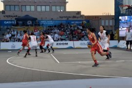 Indonesia gagal ke fase gugur basket 3x3 World Beach Games