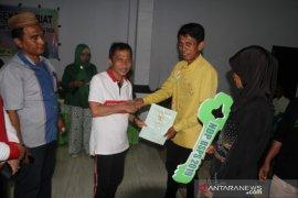 Bupati Gorontalo serahkan 400 sertifikat tanah gratis