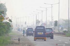 Orang tua mulai khawatir anaknya terpapar kabut asap
