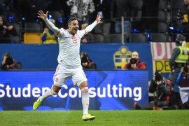Kualifikasi Piala Eropa, Rodrigo antar Spanyol lolos ke putaran final