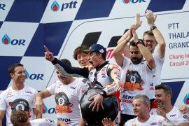 Setelah kunci juara dunia, Marquez ingin kawinkan tiga gelar untuk Honda