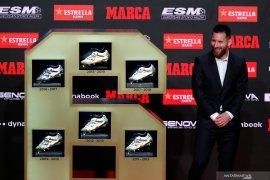 Lionel Messi meraih penghargaan Sepatu Emas keenam