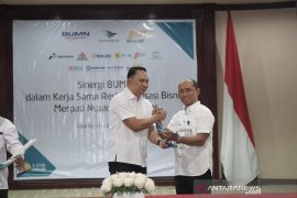 Garuda bersama 9 BUMN restrukturisasi bisnis Merpati Airlines