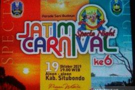 Situbondo tuan rumah Jatim Specta Night Carnival 2019