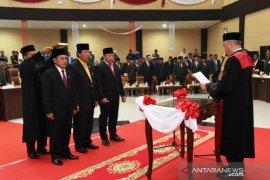Pimpinan DPRD Tapanuli Selatan masa jabatan 2019 - 2024 dilantik