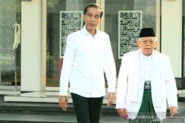 Jokowi: Pelantikan sederhana dan hikmat