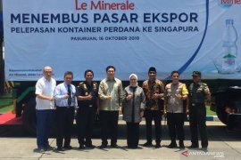 Le Minerale perluas pasar ekspor ke Singapura