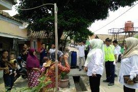 Bupati Irna datangi warga Kadomas terdampak reaktivasi rel kereta api Rangkas-Pandeglang