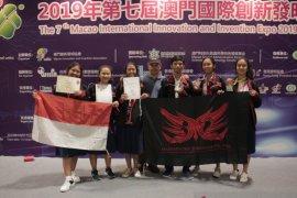 Tim Madyapadma SMAN 3 Denpasar raih medali perak di Macao, China