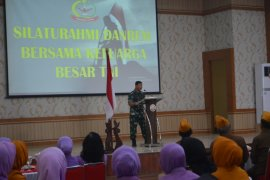 Danrem 042/Gapu ajak keluarga besar TNI jaga wilayah Jambi tetap kondusif