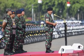 Security tightened prior to swearing in of President Joko Widodo
