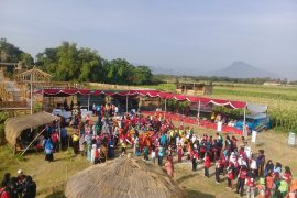 Peringatan HAN 2019, ratusan siswa Situbondo bermain permainan tradisional