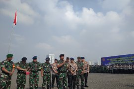 Pengamanan pelantikan presiden dilakukan mulai hari ini