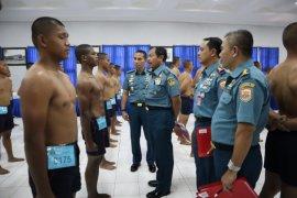 600 calon tamtama TNI AL siap jalani pendidikan militer