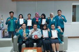Mahasiswa Unimed juara tiga olimpiade nasional