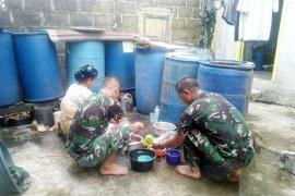Anggota Satgas TMMD Kodim 0314/Inhil Juga Handal Di Dapur