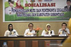 Pemkab Gorontalo meminta IKM tingkatkan mutu produk