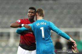 De Gea dan Pogba diragukan tampil lawan Liverpool