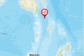 Gempa magnitudo 5,6 terjadi di Melonguane Sulut