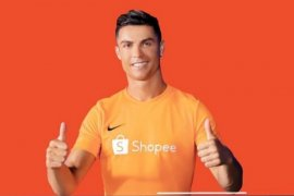Ronaldo sukses mendongkrak penjualan Shopee hingga tiga kali lipat