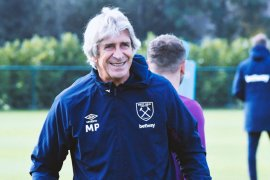 Liga Inggris - Pellegrini enggan pikirkan peluang West Ham naik ke urutan ketiga