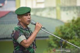 Korem 091/ASN siapkan pasukan pengamanan pelantikan presiden