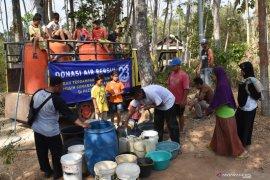 Donasi air bersih daerah krisis air